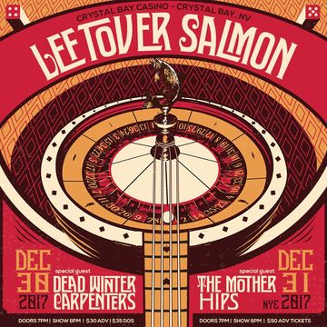 Leftover Salmon NYE 2017