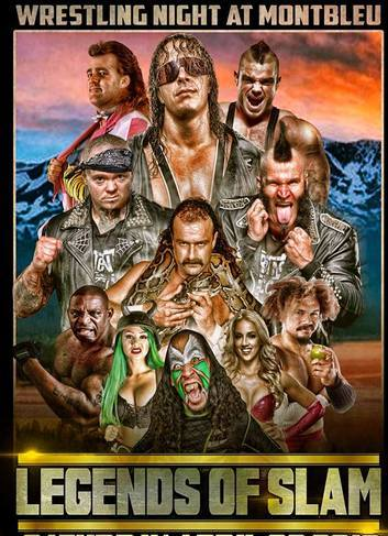 """Sat. April 28th-2018/ """"Tahoe Legends of Slam"""" – Meet and Greet + Live Event"""" ft. Bret """"The Hitman"""" Hart, Jake """"the Snake"""" Roberts, Brutus """"The Barber"""" Beefcake, The Warlord , and many many more!! Montbleu Resort & Casino-21+ On Sale Now!"""