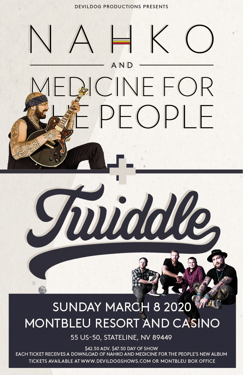 Nahko And Medicine For The People Twiddle 11x17 V3 01