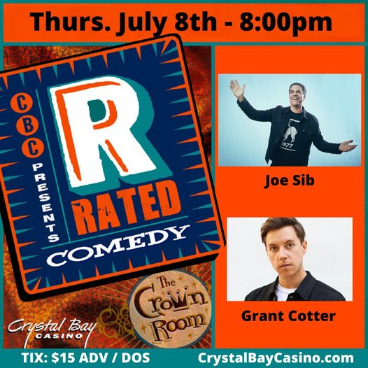 Rated R Comedy July 8th